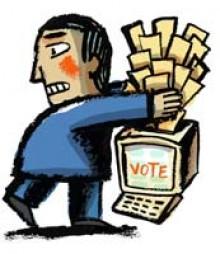 ballot-stuffing