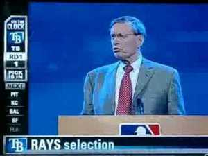 The 2008 Draft also has the dubious honor of being the last draft not done at the MLB Network studios.