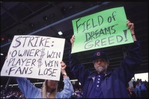 1994 MLB Strike fans