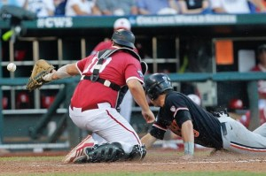 NCAA Baseball: College World Series-Indiana vs Oregon State