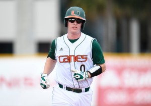 NCAA BASEBALL: APR 24 Virginia at Miami